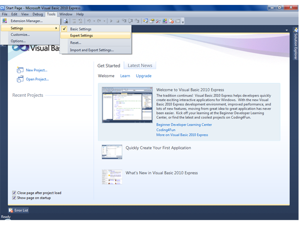 Visual Basic Screenshot 3
