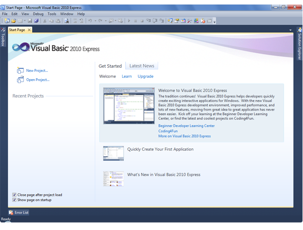 visual studio c 2010 express скачать