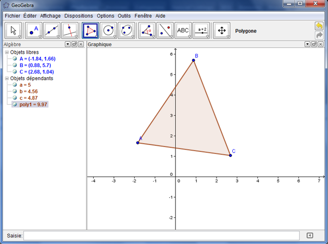 GeoGebra Screenshot 1