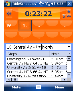 RideSchedulesTMetroTransit Screenshot 1