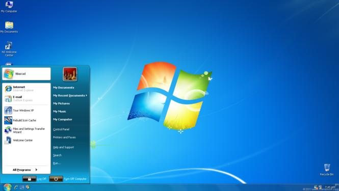 Seven Remix XP Screenshot 2
