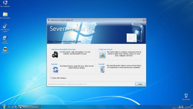 Seven Remix XP Screenshot 3