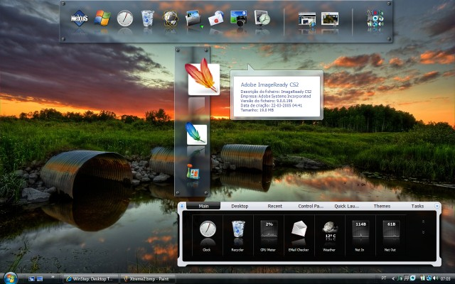 Nexus Dock Screenshot
