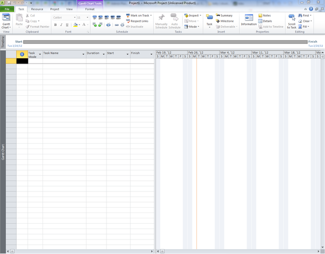 Microsoft Project Professional Screenshot 2