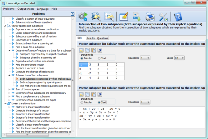 Linear Algebra Decoded Screenshot