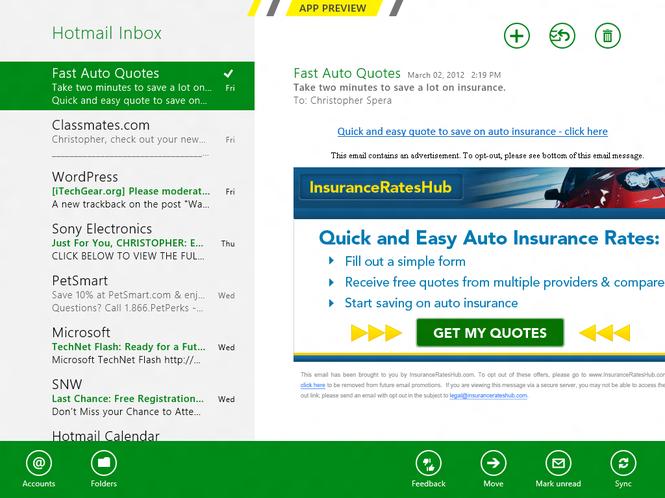 Windows 8 Consumer Preview Screenshot 9