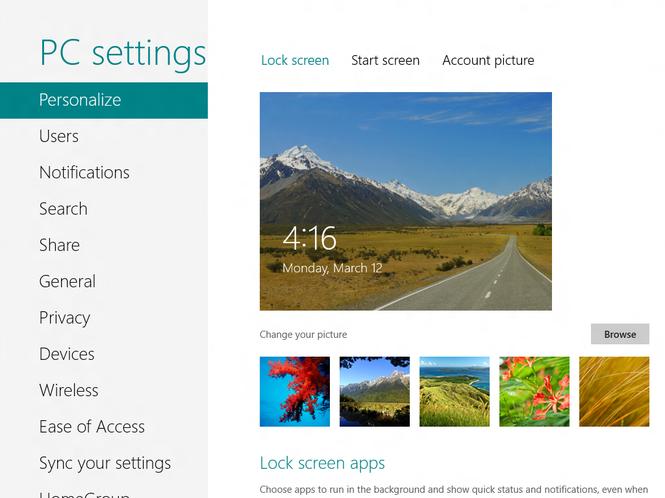 Windows 8 Consumer Preview Screenshot 18