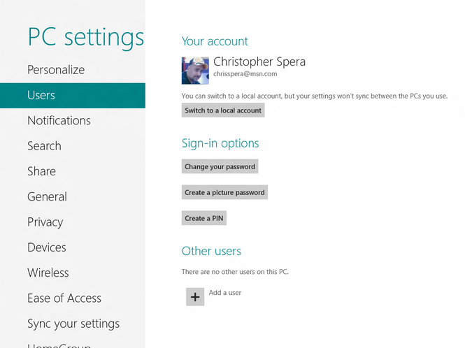 Windows 8 Consumer Preview Screenshot 19