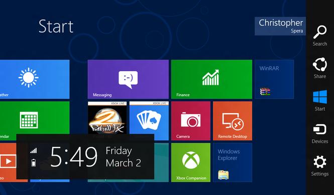 Windows 8 Consumer Preview Screenshot 36