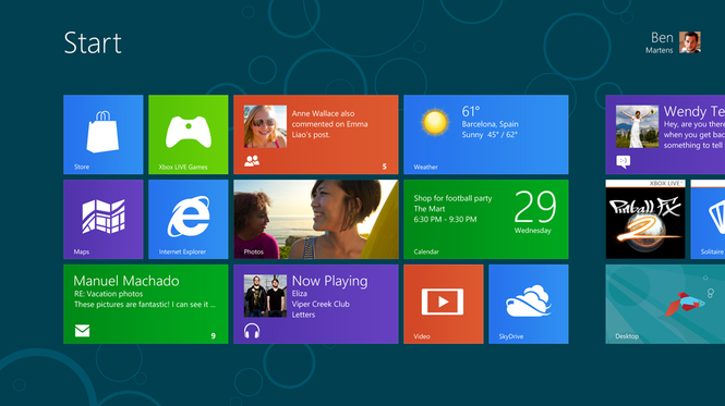 windows 8 consumer preview baixaki