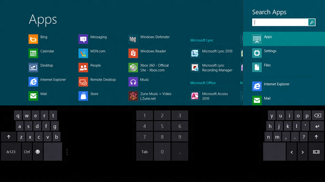 Windows 8 Consumer Preview Screenshot 3