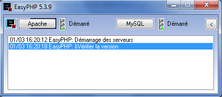 EasyPHP Screenshot 1
