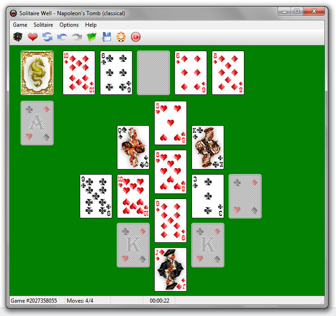 Solitaire Well Screenshot