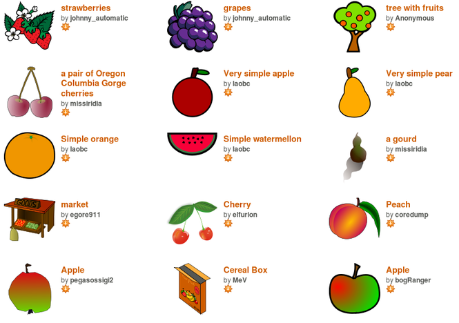 Open Clip Art Library Screenshot 3