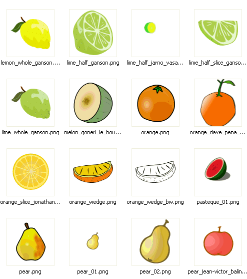 Open Clip Art Library Screenshot 2