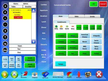 Hula POS Screenshot