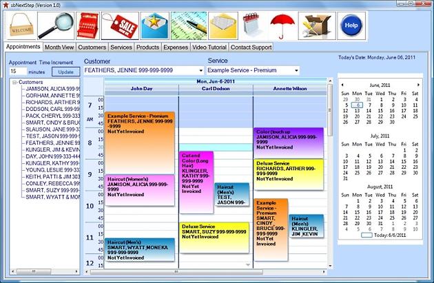 sbNextStep-Netbook Screenshot