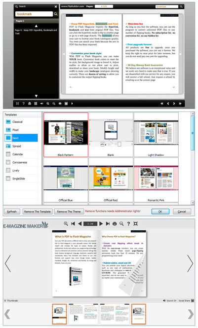 Office to Flash Magazine Pro Screenshot 1