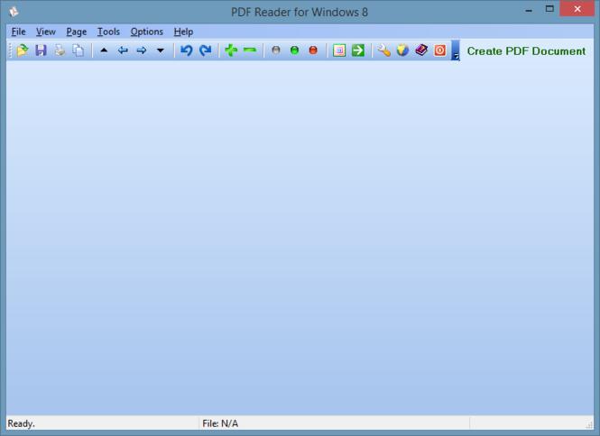 PDF Reader for Windows 8 Screenshot 2
