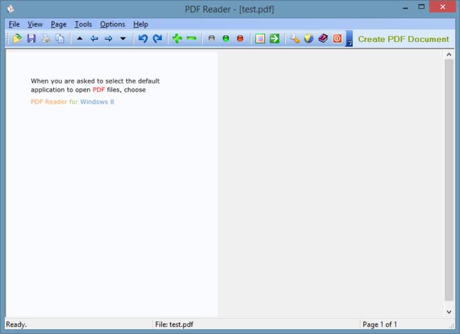 PDF Reader for Windows 8 Screenshot 3