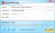 Ideal DVD Copy for Mac Screenshot