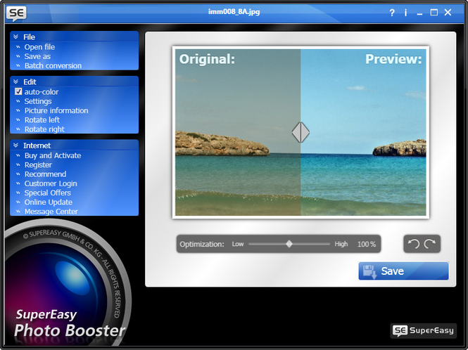 SuperEasy Photo Booster Screenshot 1