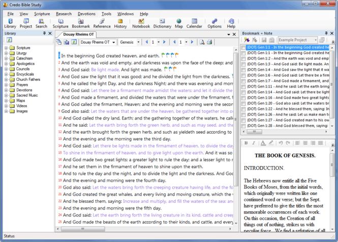 Credo Bible Study Screenshot