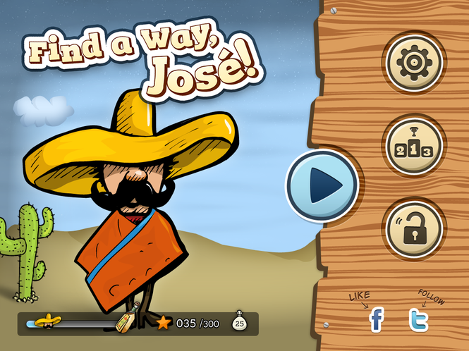 Find a Way, José! Screenshot