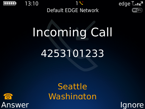 TurboCall Screenshot 1