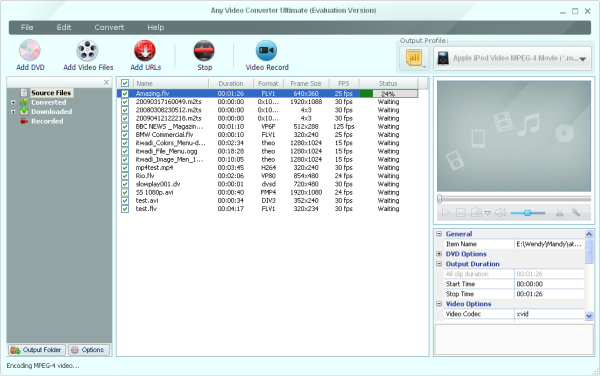 Any Video Converter Ultimate Screenshot 1