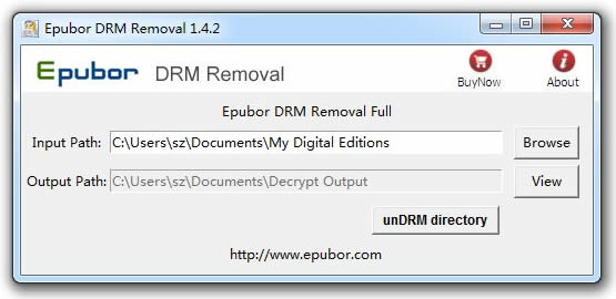 Epubor Adobe DRM Removal Screenshot
