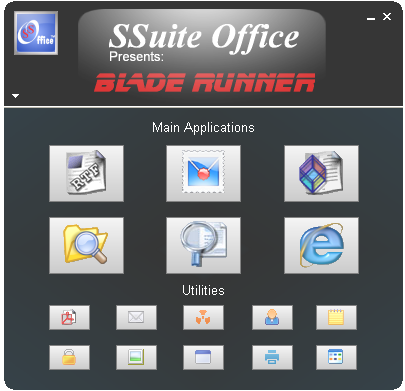 SSuite Office - Blade Runner Screenshot