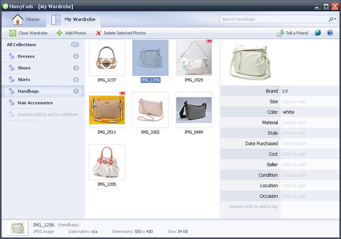 HomyFads Wardrobe Manager Screenshot 1