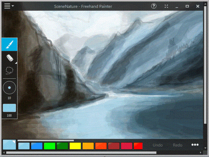 Freehand Painter Screenshot