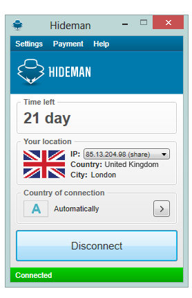 Hideman Screenshot 1