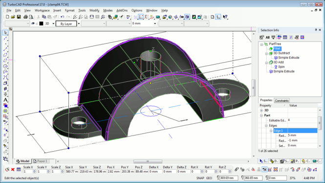 TurboCAD Pro Platinum Screenshot