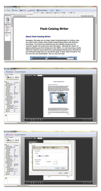 Flash Catalog Writer Screenshot 1