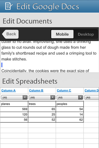 GoDocs for Google Docs Screenshot 4