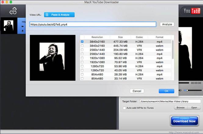 MacX YouTube Downloader Screenshot