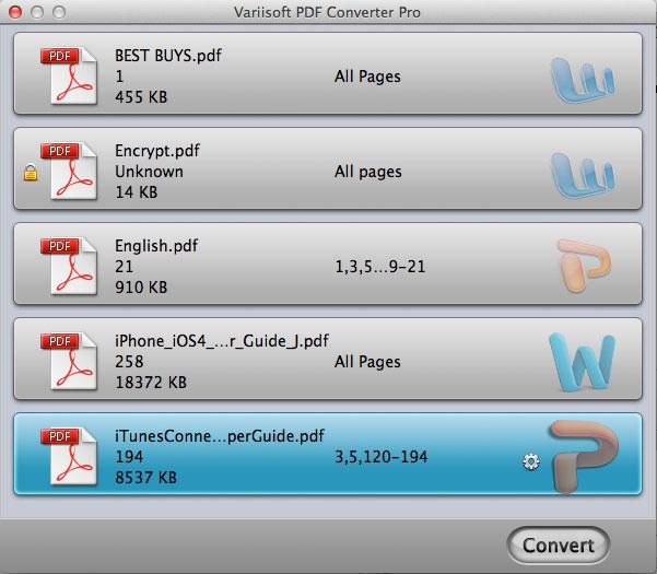 PDF Converter Pro for Mac Screenshot 1