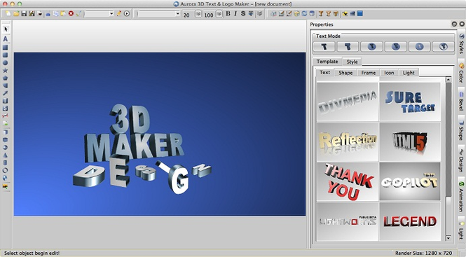 logo animation software free mac