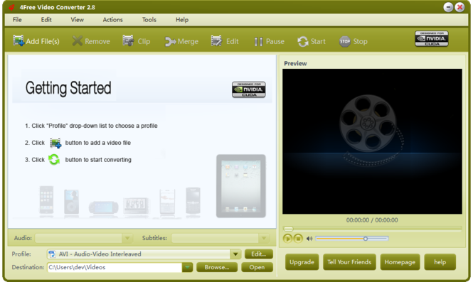 4Free Video Converter Screenshot 5