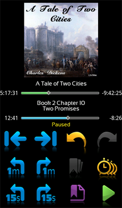 Ambling BookPlayer Lite Screenshot 3