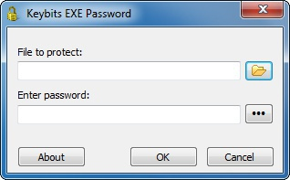 Keybits EXE Password Screenshot