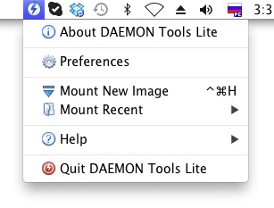 DAEMON Tools Lite for Mac Screenshot