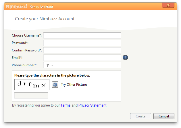 Nimbuzz Screenshot 3