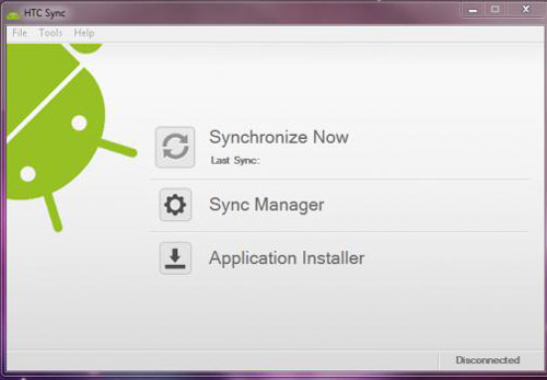 HTC Sync Screenshot 3