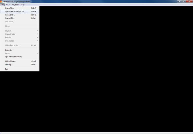 Stereostopic Player Screenshot 2