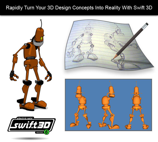 Swift 3D Screenshot 3