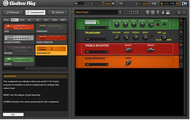 Guitar Rig Screenshot 2